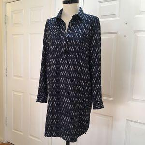 Anthropologie Dalia Print Traveler Shirt Dress, M